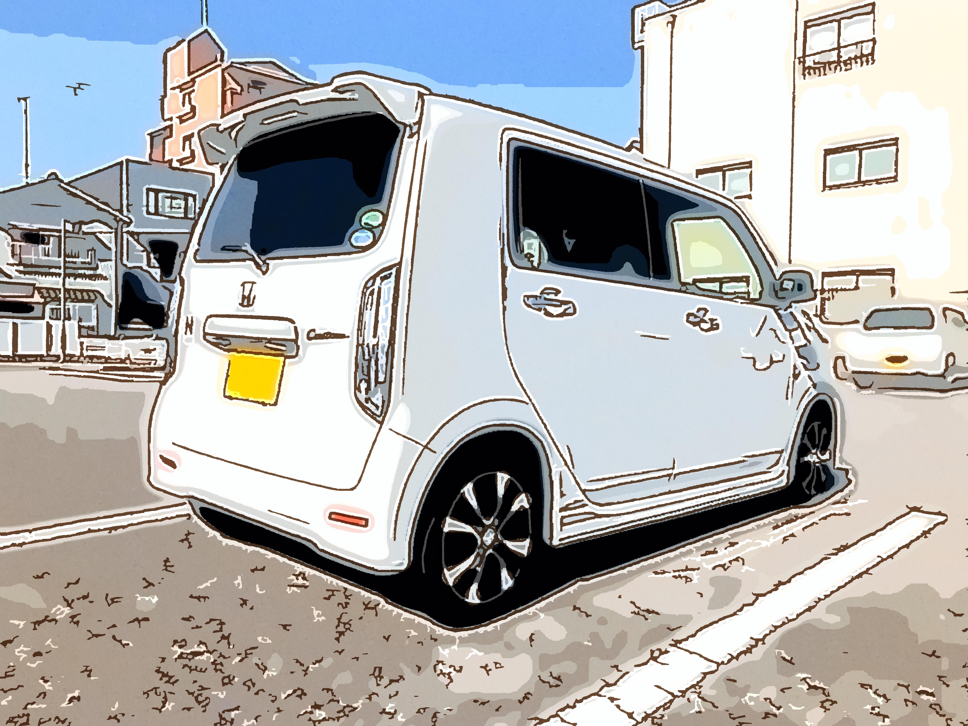 納車日の新型 N-WGN